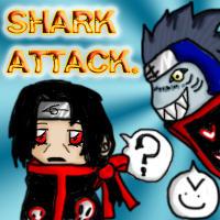 Shark Attack -Kisame+Itachi- by CrimsonEscapist