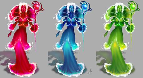 Water Elemental by Untitliel
