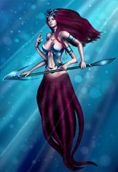 Octopus Maiden by Untitliel