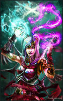 Sorceress by Puzzletoad