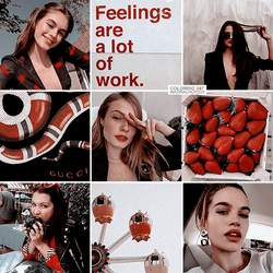 WASIRAUHLPSDS 347   FEELINGS ARE A LOT OF WORK by lilycollns