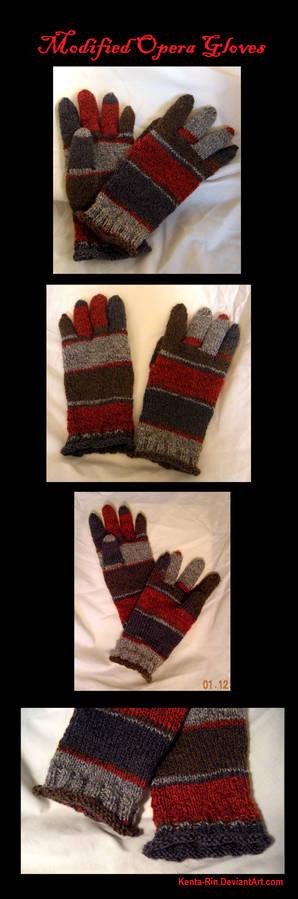 Modified Opera Gloves