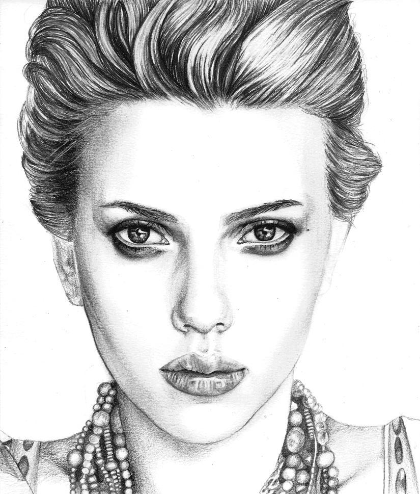 Scarlett Johansson by thekaryna