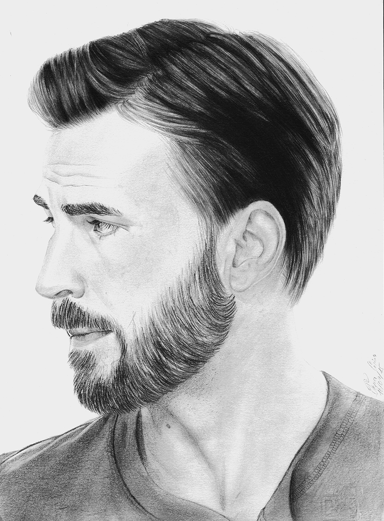 Chris Evans by thekaryna