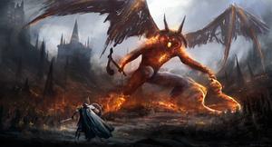Gothmog vs Ecthelion