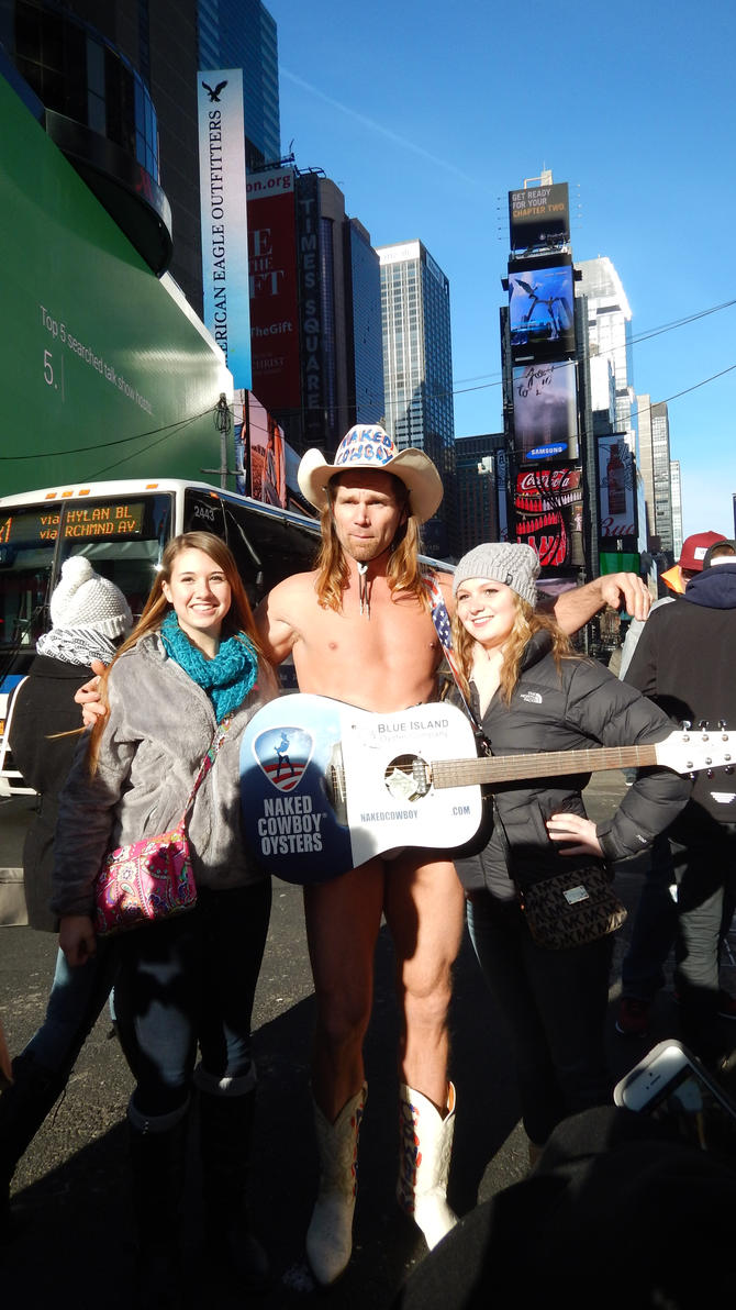 Naked Cowboy by Anett98