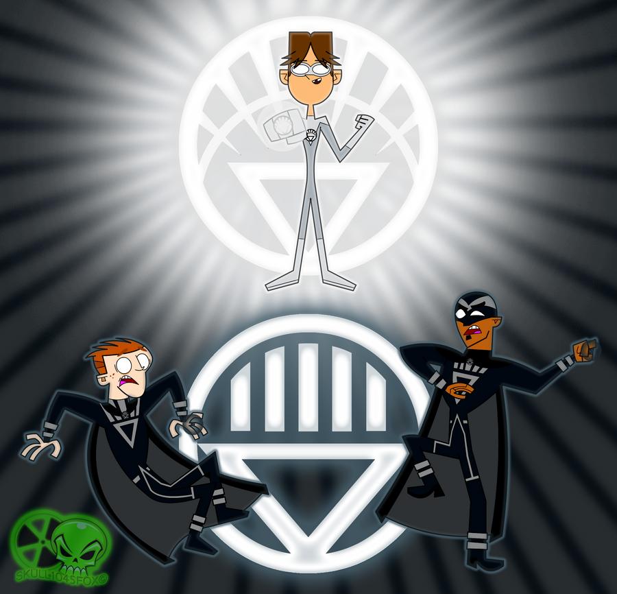 White Lantern VS Black Lantern by skull1045fox