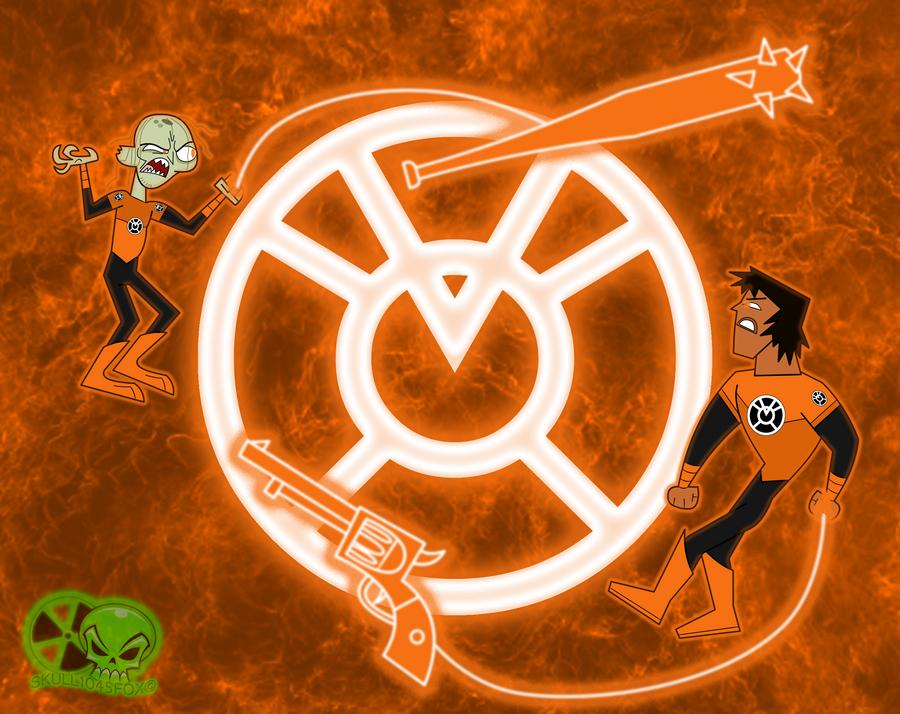 Agent Orange: Zeke vs Justin by skull1045fox