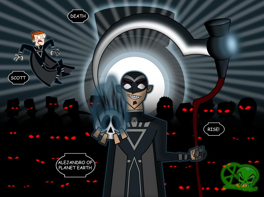 Black Lantern Corps: Death by skull1045fox