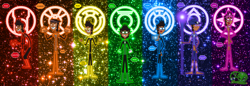 Lantern Corps: Mike's Alternate Personalities by ...