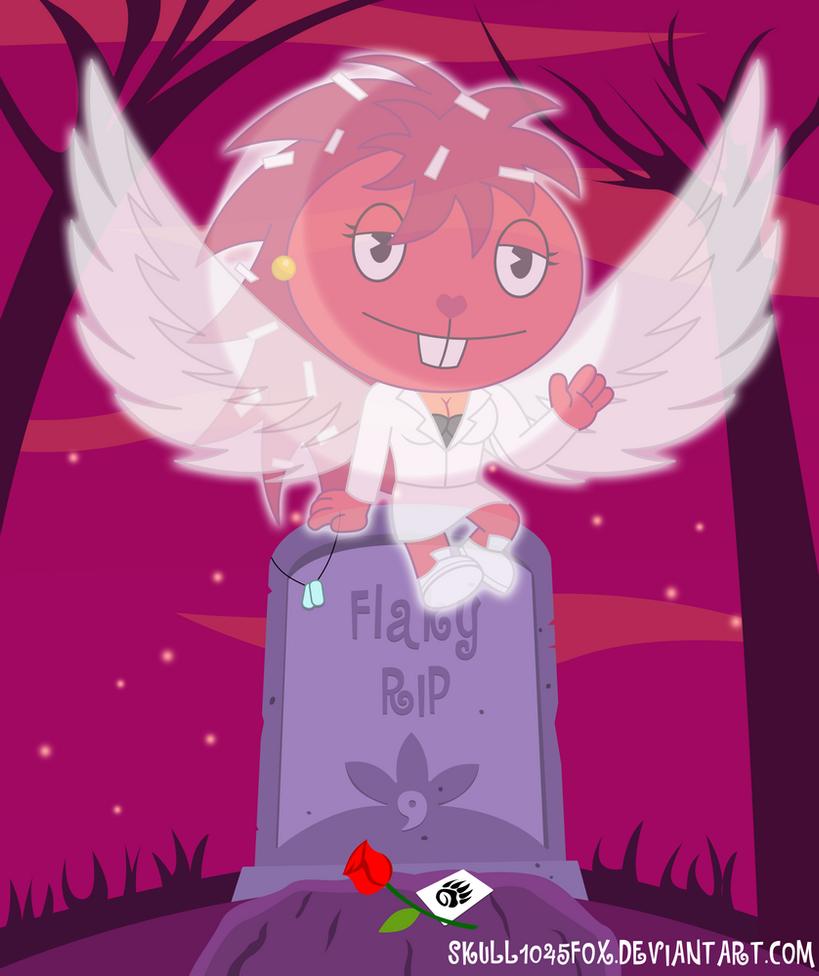 HTF Flaky Angel by skull1045fox
