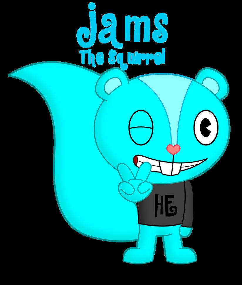HTF PC: Jams the Squirrel by skull1045fox