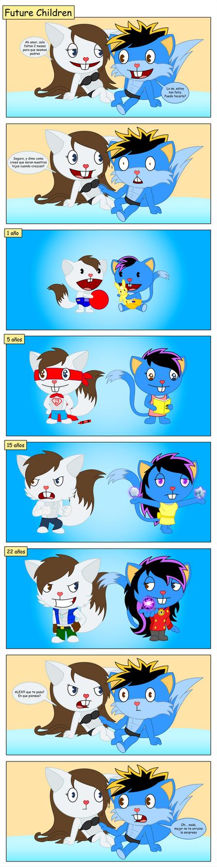 HTF Comic: Future Children by skull1045fox