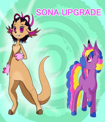 Sona Upgrade! (Original Character) by AuttumntheGuardian