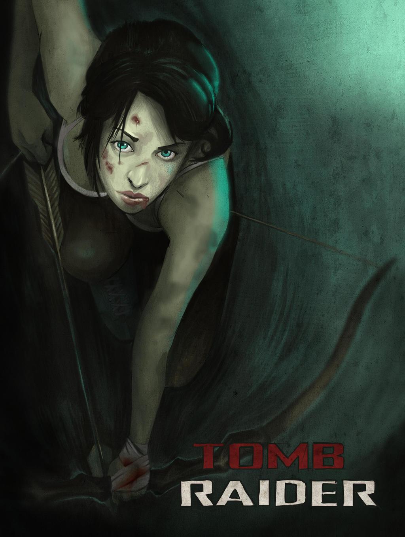 lara Croft by bertalmillan