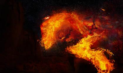 Phoenix by dragonscreative