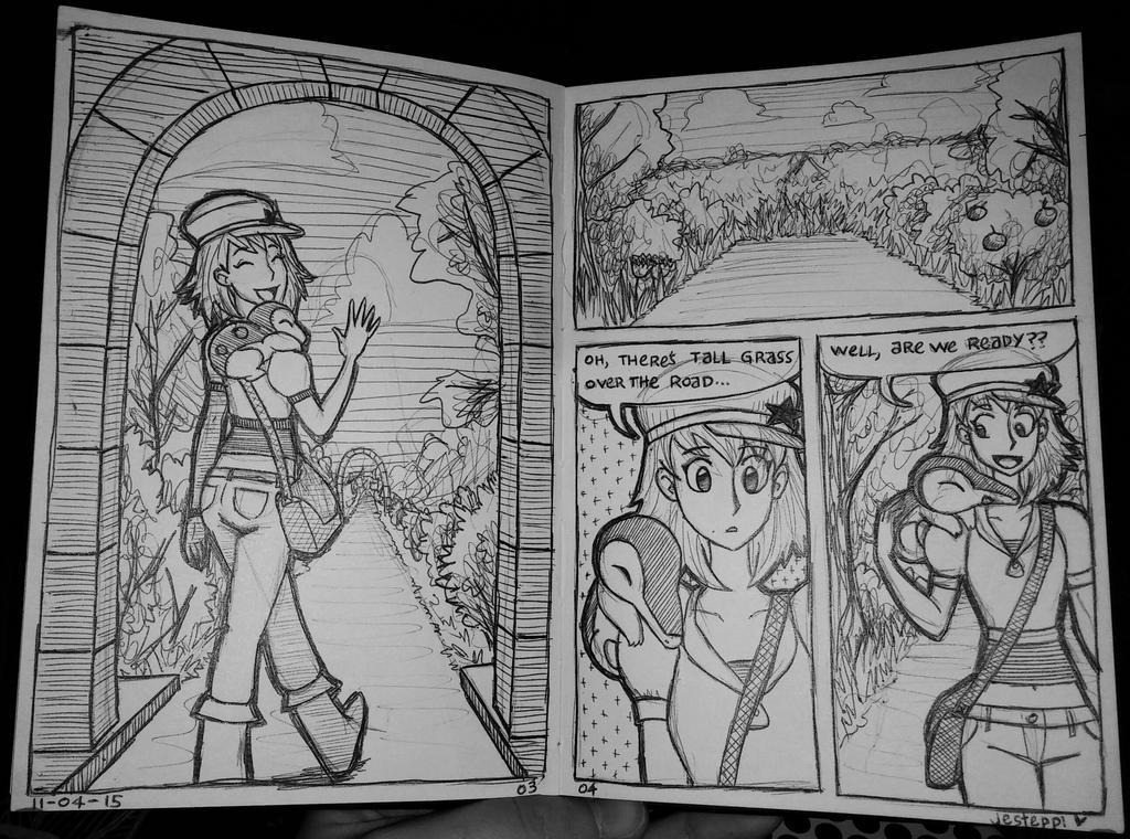 Stella Nuzlocke - pages 3-4 by Jesteppi