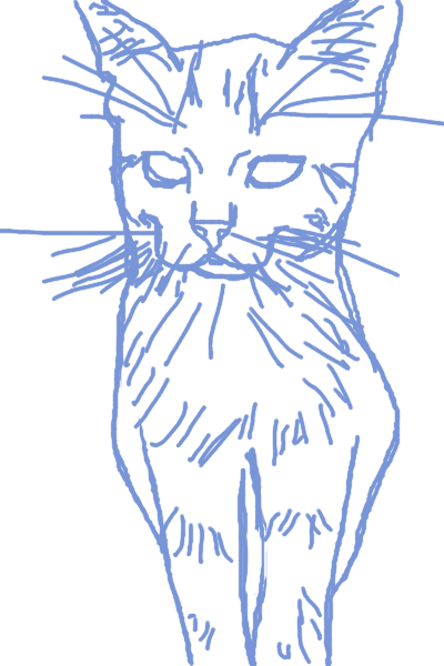 kitty sketch by megpressley