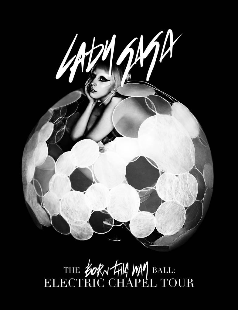 Lady Gaga - Born This Way: Electric Chapel Tour by cutmyhairatnight