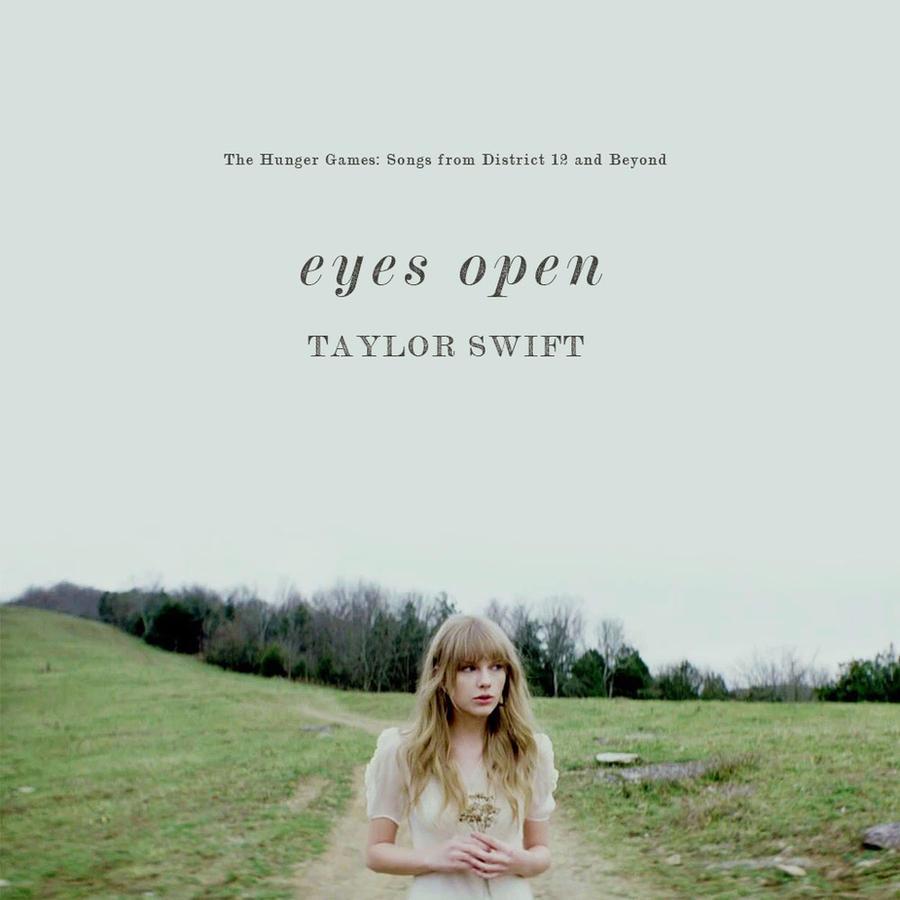 Taylor Swift - Eyes Open by cutmyhairatnight on DeviantArt