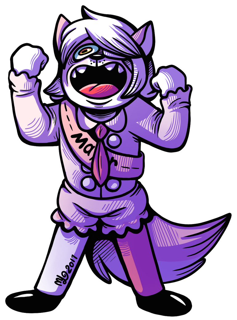 Classical Evil Laugh (owed art but with more love) by Angry