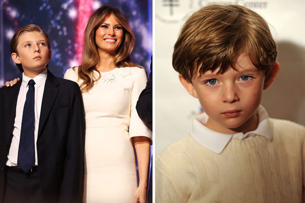 Barron-trump- Imagine Having an Insane Father by H4Grimms