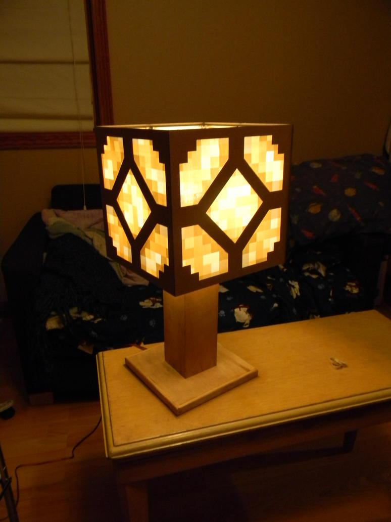 Redstone Lamp - Minecraft by veykava on DeviantArt