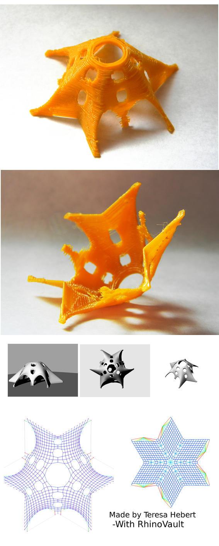 WIP - Starfish Vault -  With RhinoVault by veykava