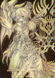 Doragon Knighto by yuniedante