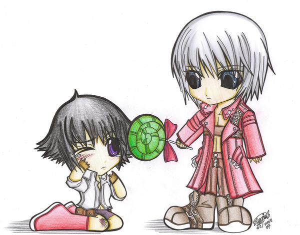 dante and lady relationship