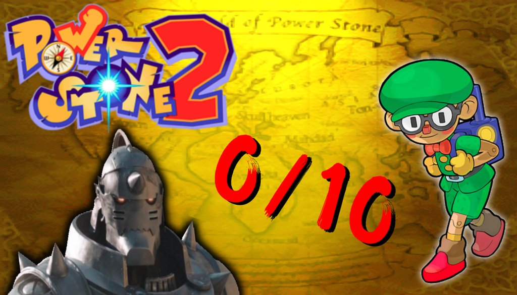 Power Stone 2: Disappointed With FMA by TheWhateverMen