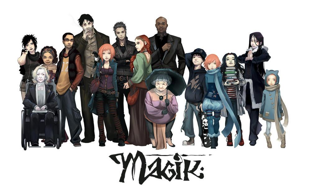 Magik-all cast by Krystel-art
