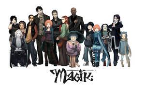 Magik-all cast