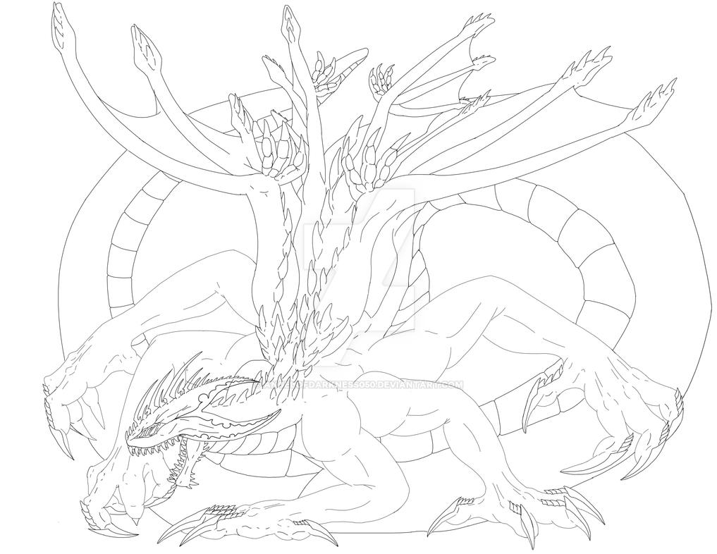 Dread Lineart by AngelOfDarkness050