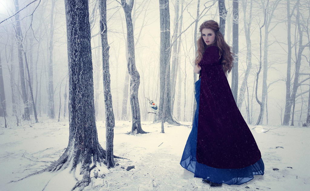 Anna Frozen by liesze