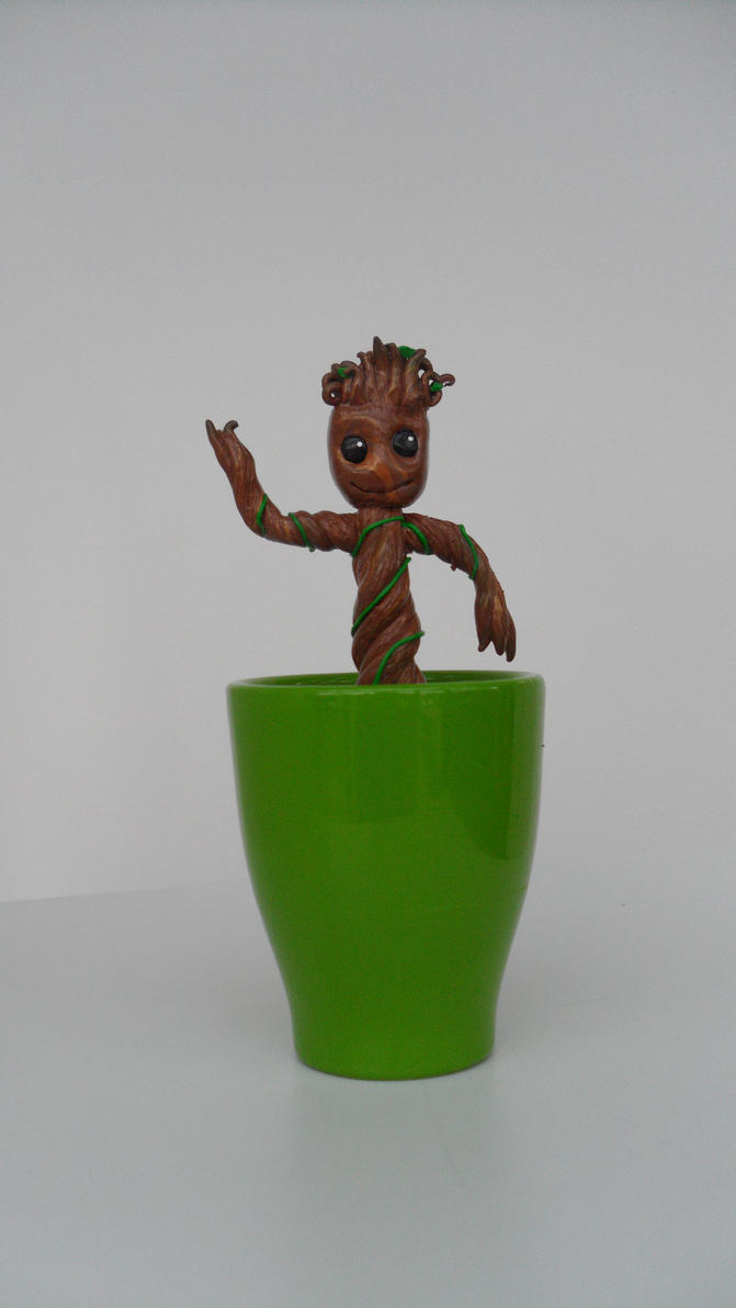 I am Groot by liesze