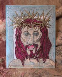 Catholic Christ Collage by TreePruitt