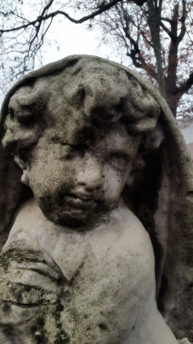 Sorrowful Cherub 1 by TreePruitt