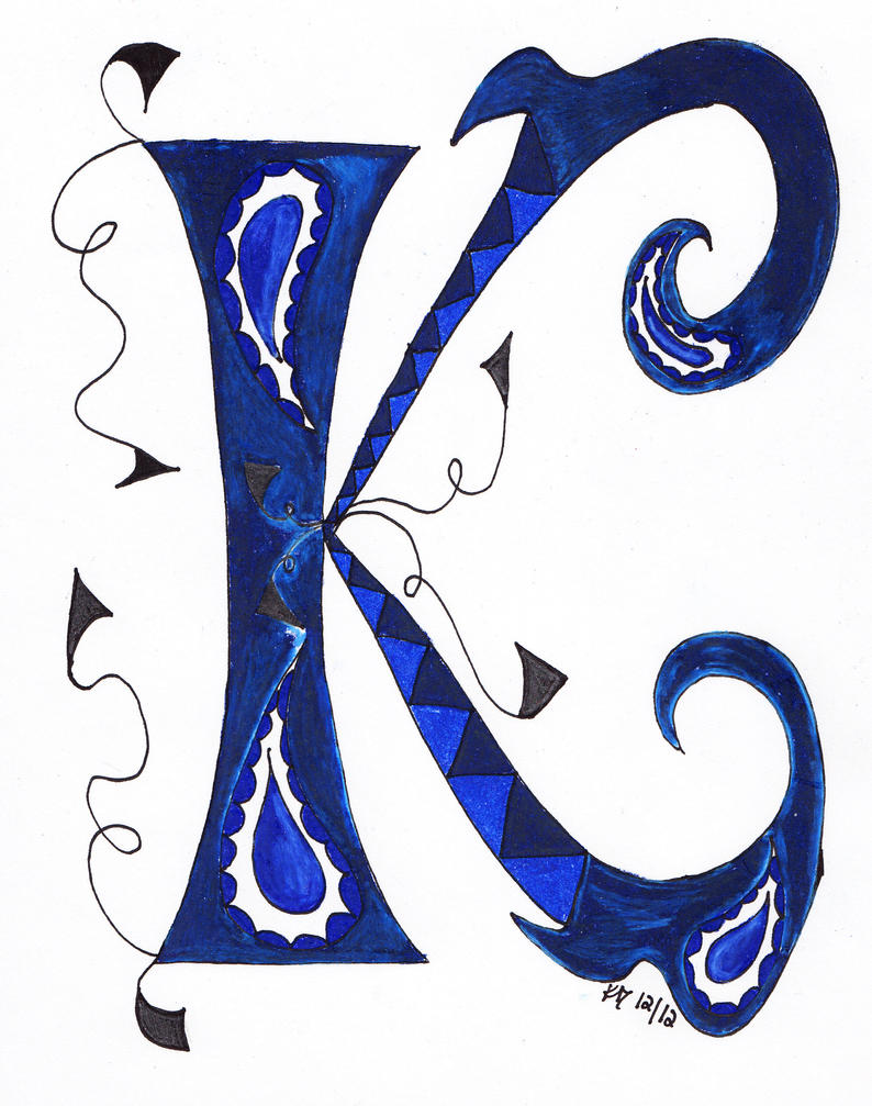 The Letter K by Eviant00 on DeviantArt