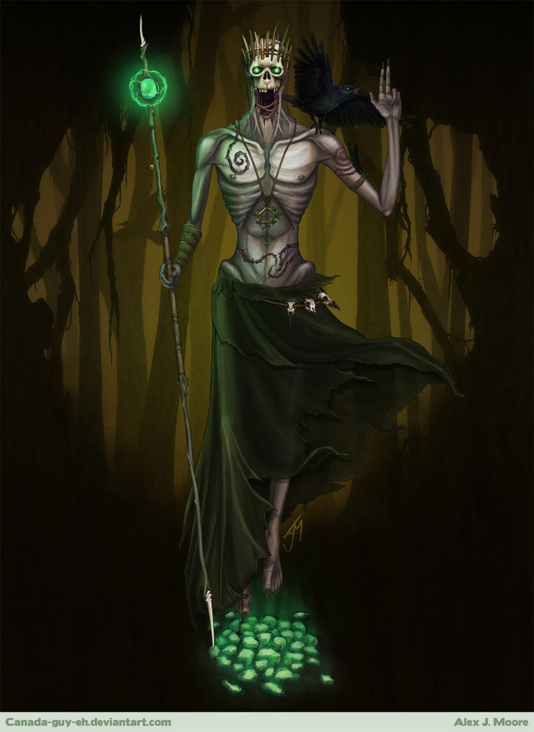 The Faceless Shaman by Canada-Guy-Eh