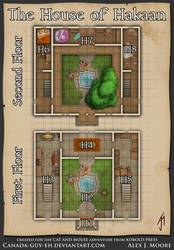 The House of Hakaan Map by Canada-Guy-Eh