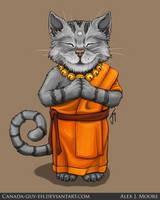 Monk Cat