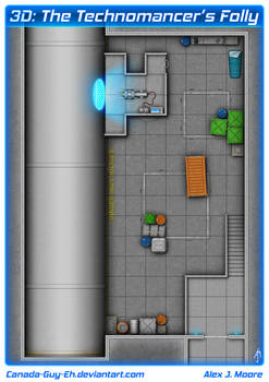 The Technomancer's Folly Map for Wayfinder 19