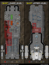Star Freighter Map by Canada-Guy-Eh