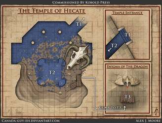 The Temple of Hecate Map