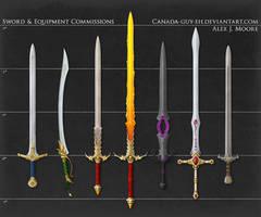 Fantasy Sword Commissions