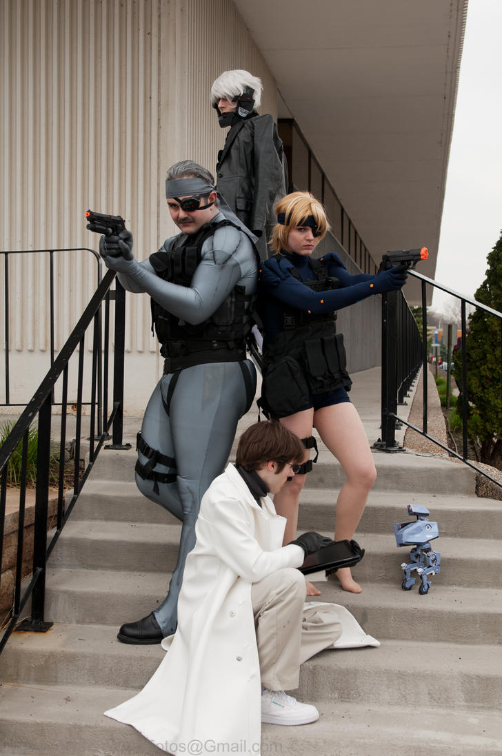 Metal Gear Solid Group by Adnarimification