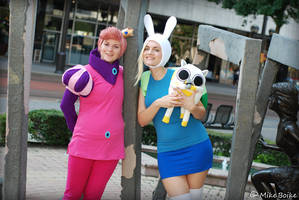 Adventure Time with Fionna and Gumball by Adnarimification