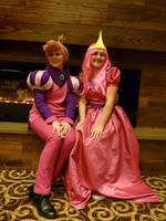 Princess Bubblegum and Prince Gumball by Adnarimification