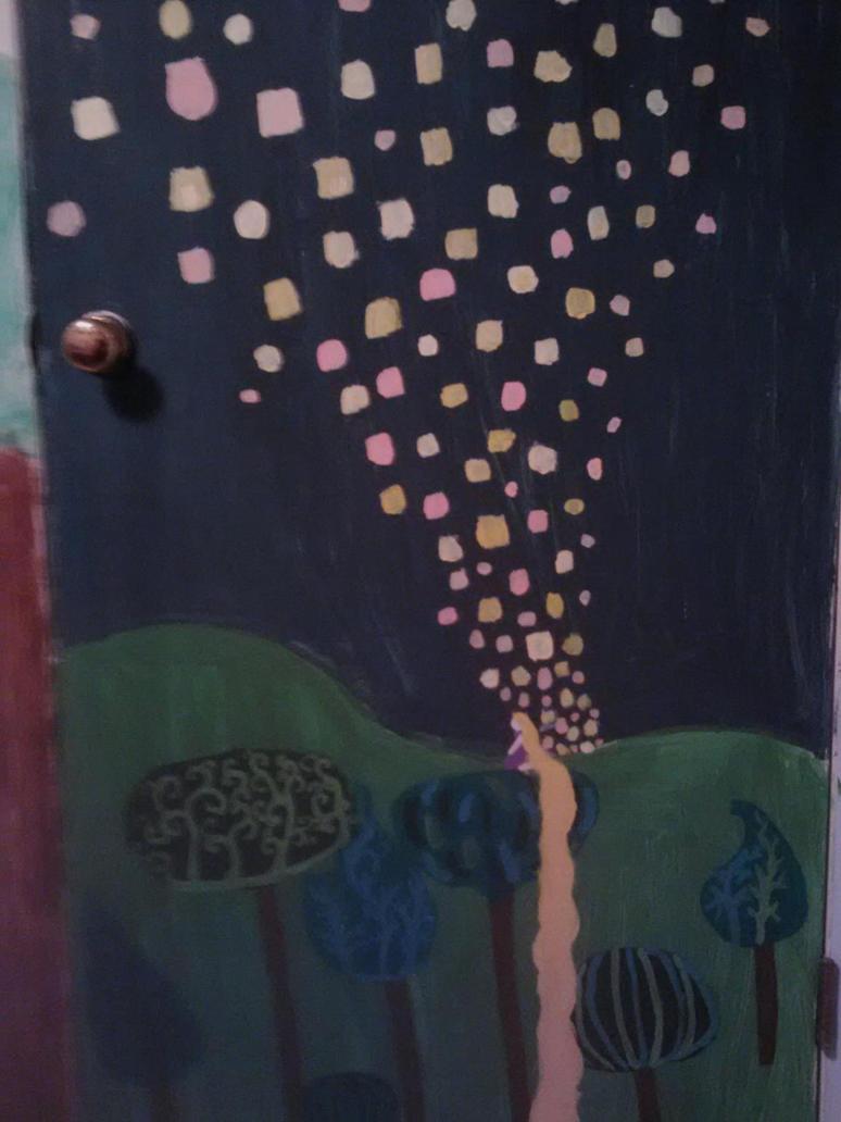 Lantern Mural by Rapunzel13